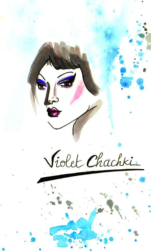 Violet Chachki by Martine76